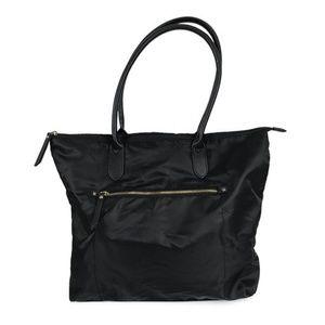 Women's Nylon Tote Handbag - Merona Black